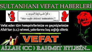 NURİ EŞİ FATMA TOSUN VEFAT ETTİ 30.08.2017 ÇARŞAMBA