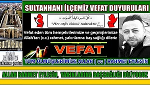 MEHMET ATAR OĞLU DERVİŞ ATAR VEFAT ETTİ 02.03.2018 CUMA