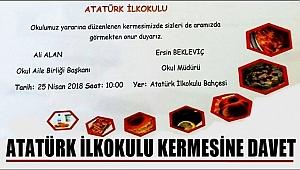 SULTANHANI ATATÜRK İLKOKULU KERMESİNE DAVET