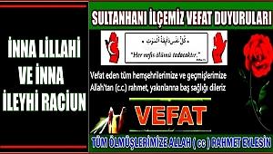 HACI ÖMER EŞİ KEZİBAN AYDIN 01.05.2018 SALI VEFAT ETTİ