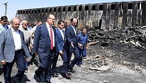 Yangın Felaketi Yaşayan Konya Mar-San'da Yaralar Sarılıyor