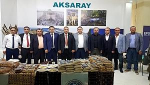 ATSO YÖREX'TE AKSARAY'I TANITIYOR