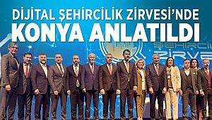 Dijital Şehircilik Zirvesi'nde Konya Anlatıldı