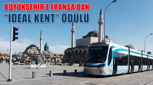 Konya Büyükşehir'e Fransa'dan