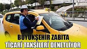 Konya Büyükşehir Zabıta Ticari Taksileri Denetliyor