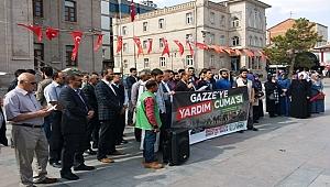 KORKMAZ 'GAZZE İNSANİ YARDIM BEKLİYOR'