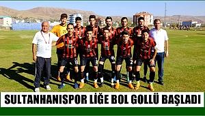 SULTANHANISPOR YENİ SEZONA BOL GOLLÜ BAŞLADI 8-2