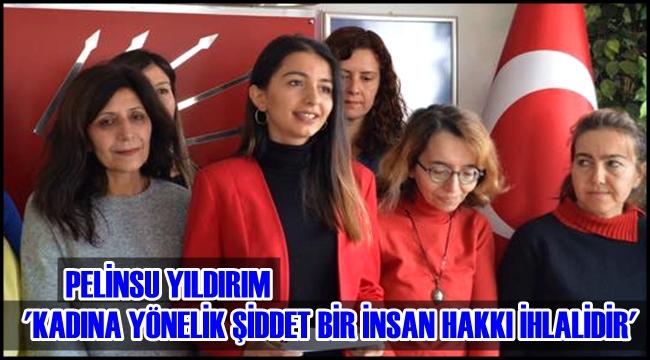 PELİNSU YILDIRIM 'KADINA YÖNELİK ŞİDDET BİR İNSAN HAKKI İHLALİDİR'