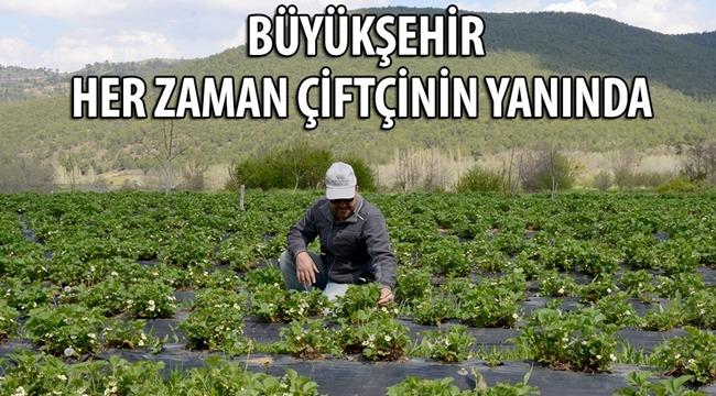 Konya Büyükşehir belediyesi Her Zaman Çiftçinin Yanında