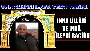 MAHMUT OĞLU MUSTAFA ŞANLI VEFAT ETTİ 05.01.2019 CUMARTESİ