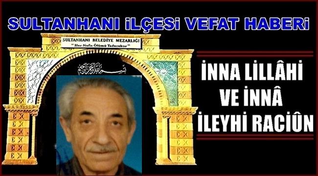 MEHMET OĞLU ŞIH MEHMET SARI VEFAT ETTİ 15.01.2019 SALI