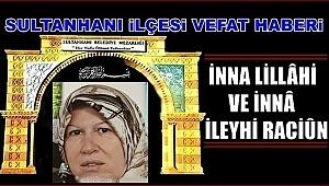 MUSTAFA EŞİ HATİCE SOLAK VEFAT ETTİ 07.01.2019 PAZARTESİ