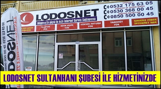 SULTANHANINDA FİBER İNTERNET DEVRİ BAŞLADI
