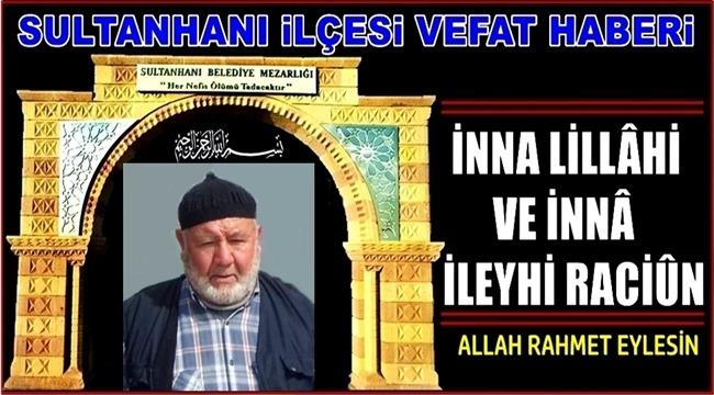 MEHMET OĞLU ZEKERİYA ERGİN VEFAT ETTİ 05.03.2019 SALI