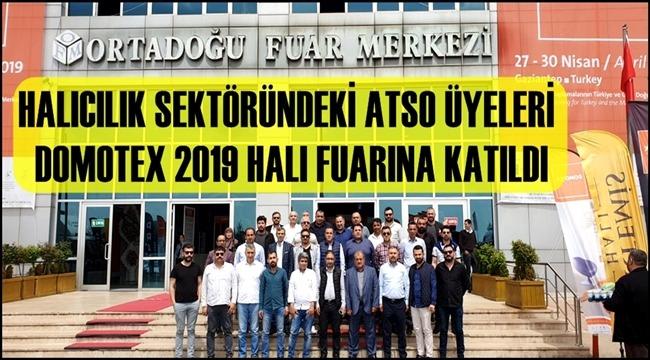 HALICILIK SEKTÖRÜNDEKİ ATSO ÜYELERİ DOMOTEX 2019 HALI FUARINA KATILDI