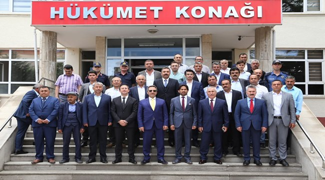 """VALİ ALİ MANTI """"ÖNCELİKLERİMİZE GÖRE ELİMİZDE NE İMKÂN VARSA KULLANACAĞIZ"""""""