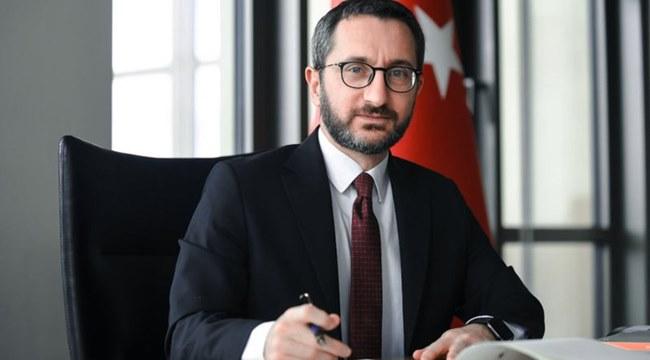 PROF. DR. FAHRETTİN ALTUN 'GAZETECİLER VE BASIN BAYRAMI KUTLU OLSUN'
