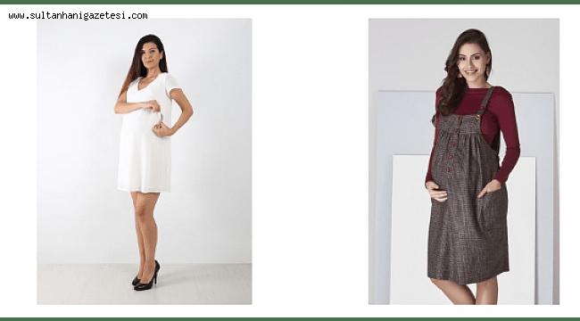 Tesettürlü Kadınlar İçin Birbirinden Özel Hamilelik Kıyafetleri