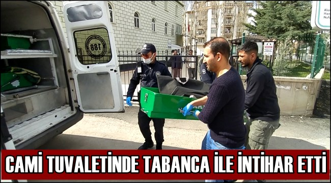 AKSARAY'DA ACI OLAY! TUVALETTE SİLAHLA İNTİHAR ETTİ!