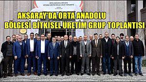 AKSARAY'DA ORTA ANADOLU BÖLGESİ BİTKİSEL ÜRETİM GRUP TOPLANTISI