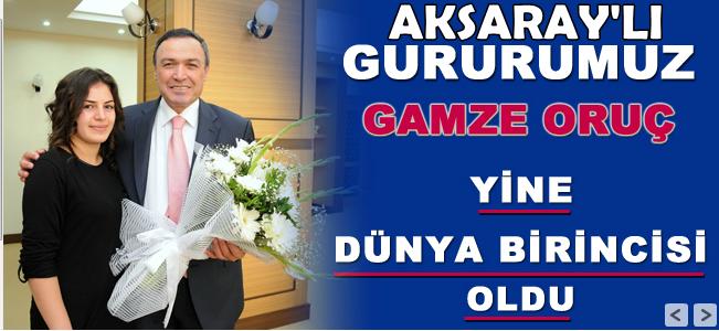 Aksaraylı Gamze 6. Kez Dünya şampiyonu