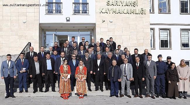 AKSARAY VALİSİ ALİ MANTI İLÇELERDE İNCELEMELERDE BULUNDU