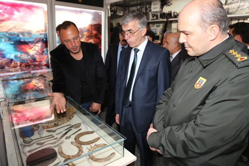 çanakkale 100.yıl Gezici Müzesi Aksaraya Geldi - AKSARAY ...