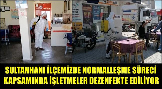 SULTANHANINDA DA NORMALLEŞME SÜRECİ BAŞLIYOR