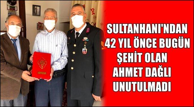 42 YIL ÖNCE ŞEHİT OLAN AHMET DAĞLI'NIN AİLESİ ZİYARET EDİLDİ