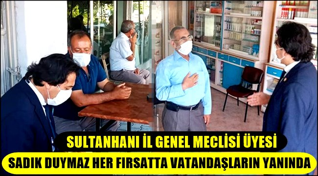 SADIK DUYMAZ'DAN ESNAF ZİYARETLERİ