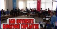 ANADOLU GENÇLİK DERNEĞİ AKSARAY ŞUBESİ GENÇLİK KOMİSYONU TOPLANTISI...