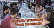 ORTAKÖY MYO'NDAN İFTAR PROGRAMI