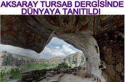 Aksaray Türsab Dergisi Ekim Sayısında Dünyaya Tanıtıldı