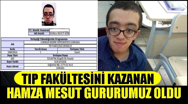 TEBRİKLER HAMZA MESUT AĞIR!