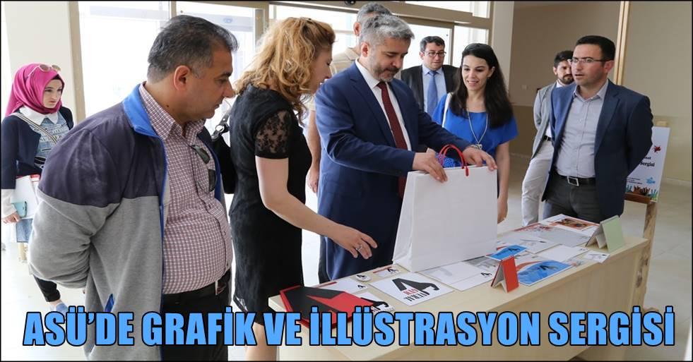 ASÜ'DE GRAFİK VE İLLÜSTRASYON SERGİSİ