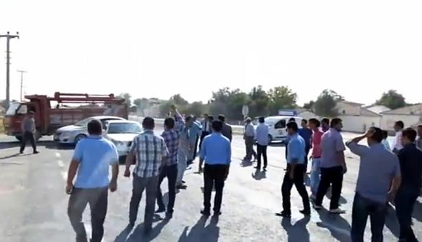 Sultanhanı'nda Yol Kapama eylemi 1. Bölüm
