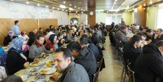 Sultanhanı'nda Öğretmenler Günü Yemeği